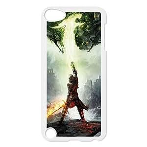 iPod Touch 5 Case White dragon age inquisition JNR2159539