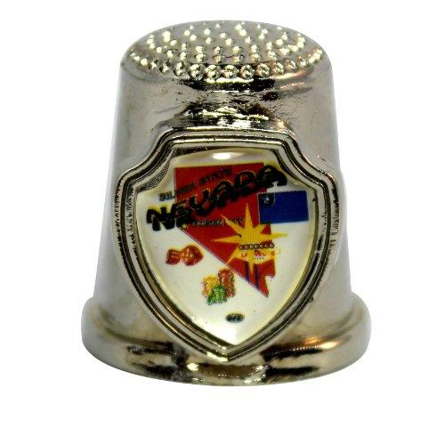 Souvenir Thimble - Nevada