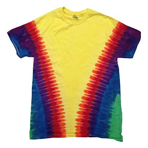 Colortone Tie Dye Kids 10-12 (MD) Vee Rainbow for $<!--$11.95-->