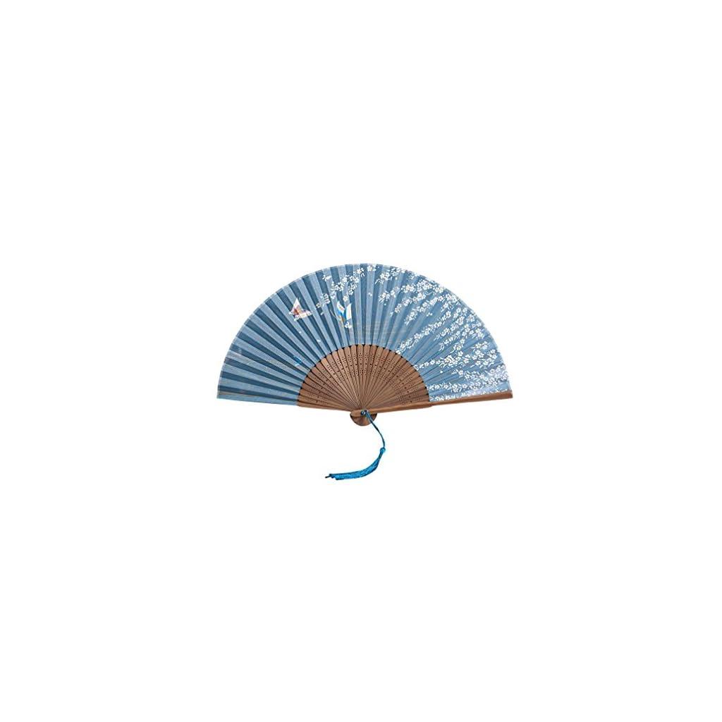 Amaping-Bamboo-Solid-Silk-Hand-Held-Decor-Flower-Print-Folding-Fan-Chinese-Style-Handmade-Artificial-Folk-Art-Belly-Dancing-Fan