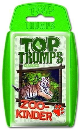 Winning Moves 61304 Top Trumps: Zoo Kinder - Juego de cartas ...