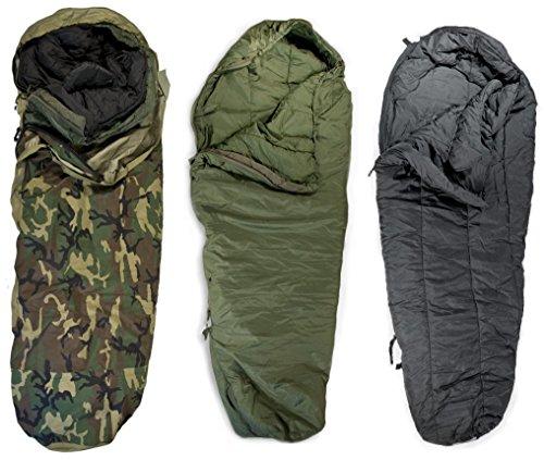 USGI Military 3-Piece Modular Sleeping Bag System w/ Gore-Tex Bivy Sack by U.S. Military Contractors