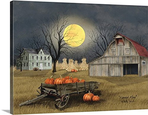 Billy Jacobs Premium Thick-Wrap Canvas Wall Art Print entitled Harvest Moon