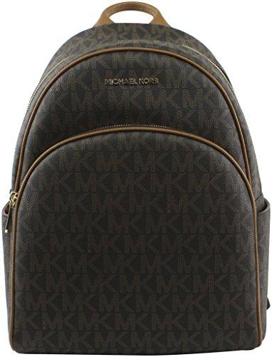 07f2c74e759b MICHAEL Michael Kors Women's Abbey Large Signature Logo Backpack, Style  35S7GAYB3B
