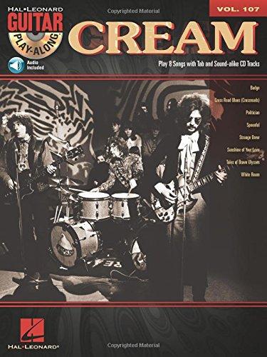 Cream - Guitar Play-Along Volume 107 (Book/CD)