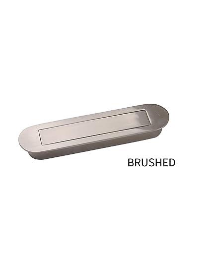 Meticulous Zinc Alloy Flush Recessed Sliding Door Pull Handles ...