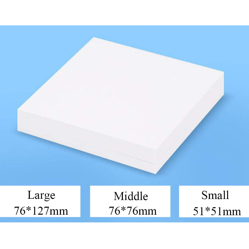 Mixing Pads Dental, Double-Side Disposable Mixing Paper Sheet 500pcs,76×127mm by ZCMYXA-DENTAL