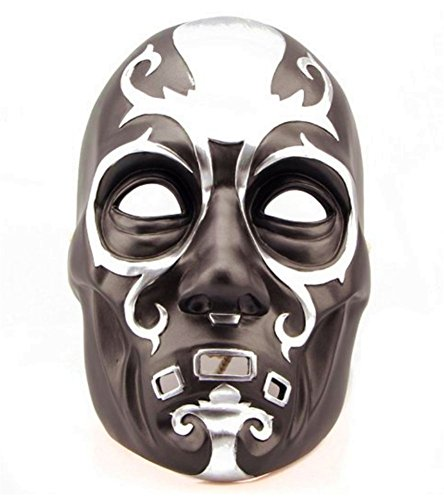 Death Eater Halloween Costumes - Gmasking Resin Harry Potter Death Eater Mask Replica+Gmask Keychain