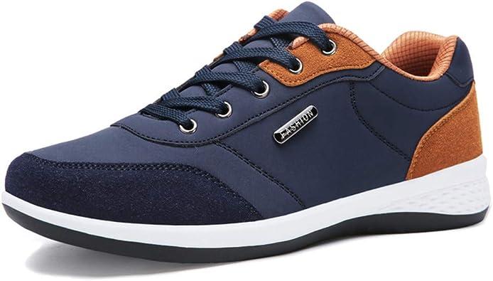Tefamore Calzado Hombre Negocios Cordón Sneakers Zapatillas ...