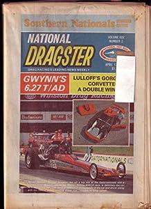 NATIONAL DRAGSTER-NHRA-4/13/1984-GWYNN-LULLOFF- VG