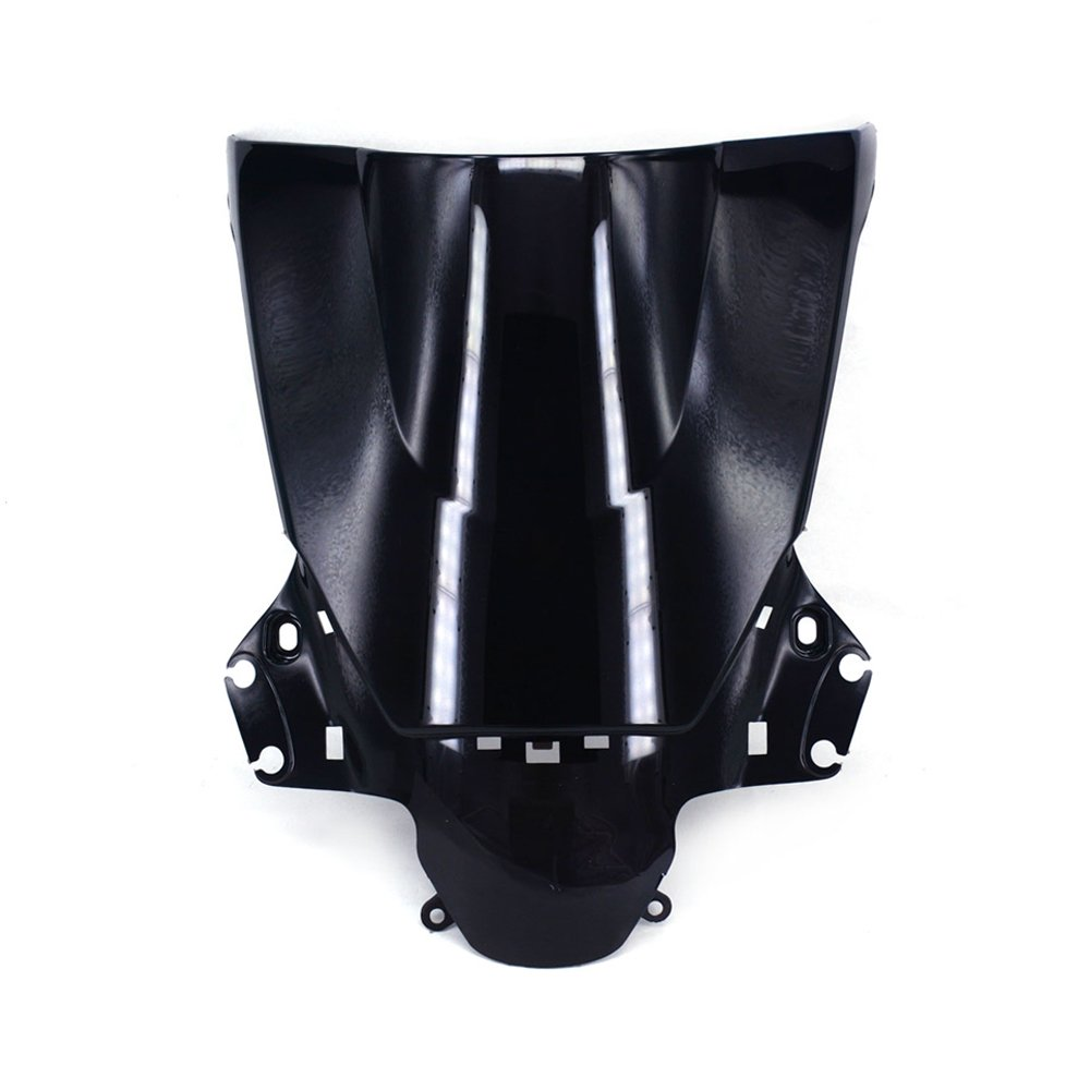JFG RACING Black Motorcycle Windscreen Windshield For Honda CBR250R CBR 250 R 2011-2013