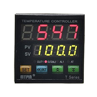 MYPIN® TA4-SNR+K Thermocouple SNR PID Dual Digital Display Temperature Controller Dual Type-K Thermocouple