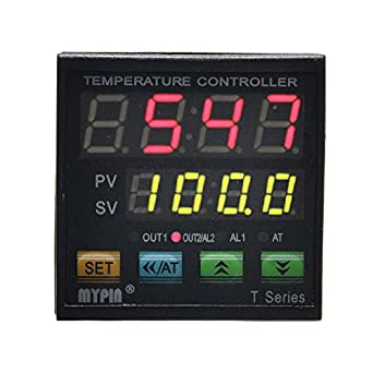 MYPIN TA4-SNR K Thermocouple SNR PID Dual Digital Display Temperature Controller Dual Type-K Thermocouple