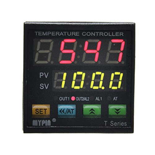 MYPIN TA4-SNR+K Thermocouple SNR PID Dual Digital Display Temperature Controller Dual Type-K Thermocouple