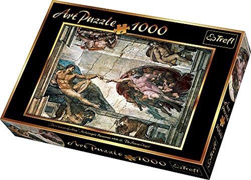 Trefl Buonarroti Creation of Adam Jigsaw Puzzle (1000 Piece) by Trefl