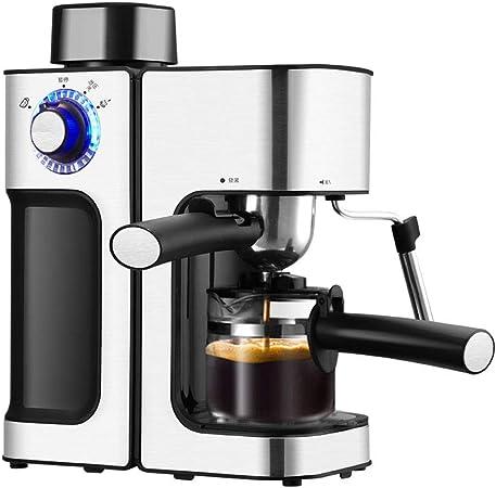 TWDYC Cafetera Espresso automática Máquina de café eléctrico Cappuccino de Latte Leche espumador de Leche: Amazon.es: Hogar