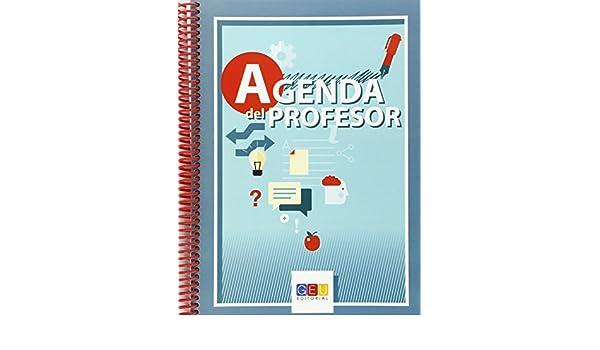 Agenda del profesor bilingüe Permanente erspiral: Amazon.es ...