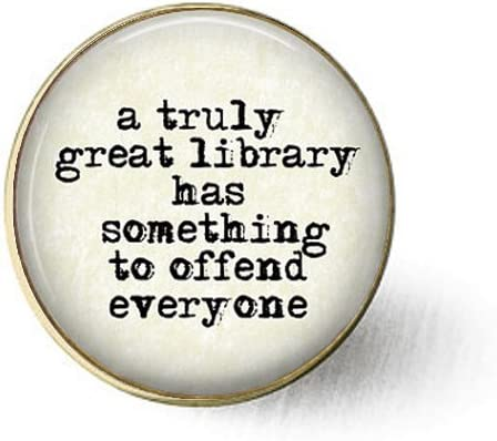Amazon.com: stap A Truly Great Library Has Something To Offend ...