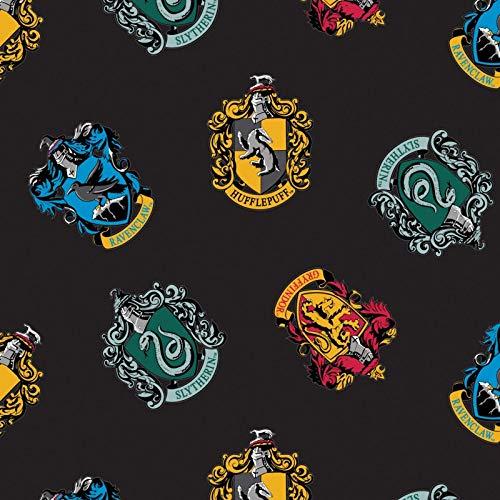 (Harry Potter Wizarding World Schools Fleece Fabric - 2)