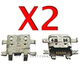 ePartSolution-2 X HTC EVO V 4G / EVO 3D (CDMA) PG86100 Charging Port Dock Connector USB Port Repair Part USA Seller