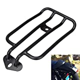 #2: Ambienceo Motorcycle Solo Seat Rear Luggage Rack Support Shelf for Harley Davidson Sportster Nightster Roadster Seventy-Two Black
