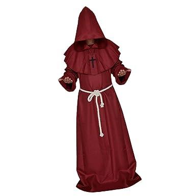 Amazon.com: monkeyjack Sacerdote Disfraz Fancy Dress ...