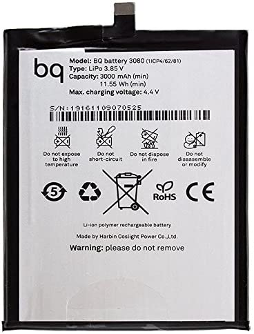Bateria Original BQ Aquaris U / U Lite / U Plus (Bulk): Amazon.es: Electrónica