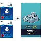 PSN Guthaben für Fortnite - 6.000 V-Bucks + 1.500 extra V-Bucks - 7.500 V-Bucks DLC | PS4 Download Code - deutsches Konto