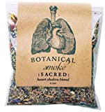 Anima Mundi Botanical Sacred Smoke - Organic Loose Herbal Blend with Mugwort, Rose Petals + Calendula Flowers (0.5oz)