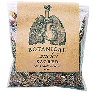 Herbal Smoking Blend (Mugwort, Skullcap, Damiana, Rose Petals, Calendula Flowers, Gotu Kola, Cornflowers.) (0.5 oz) 11