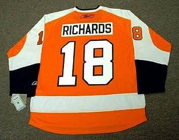 64d4ecfb8d1 Mike Richards Philadelphia Flyers REEBOK RBK Premier Alternate Home NHL  Hockey Jersey