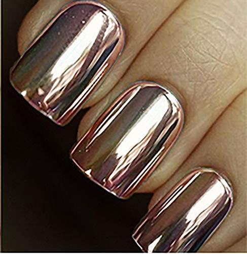 Minx Nails Chrome, Rose Gold, 0.2 Ounce