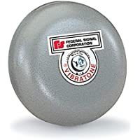 Federal Signal 504-120-1 Vibrations Bell Assembly, 120 VAC, 4 Gong, Gray