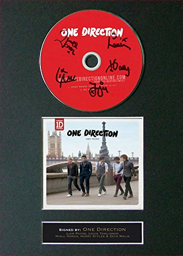 one direction autograph cd - 8