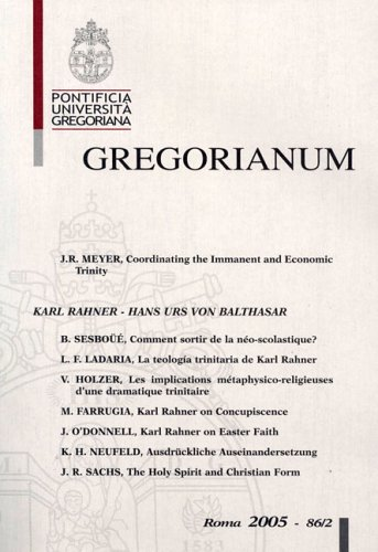 Gregorianum PDF