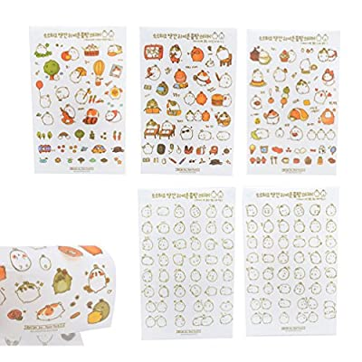 Cat Fan related Products We-buys Cute Cats Stickers Transparent Diary Scrapbooking Labels... [tag]