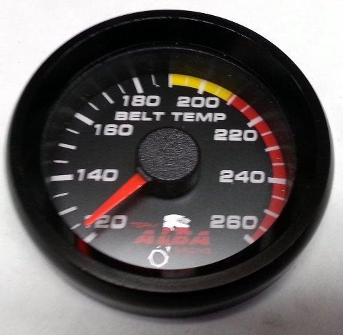 UTV Belt Temperature Gauge for Can Am Commander (all yrs)