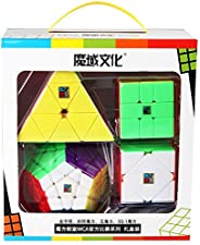Box Cubo Mágico Moyu Pyraminx Megaminx Sq1 Skewb -Cubo Store