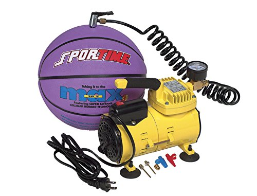 Sportime Professional Electric Ball Inflator, 1/8 HP Motor