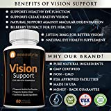 Vision Support Eye Health Supplements with