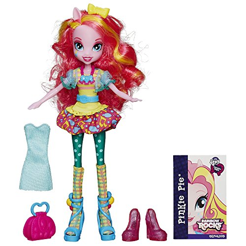 My Little Pony Equestria Girls Rainbow Rocks Pinkie Pie Doll with Fashions by My Little Pony