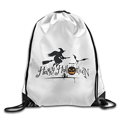 Bekey Happy Halloween Event Gym Drawstring Backpack Bags For Men & Women For Home Travel Storage Use Gym Traveling Shopping Sport Yoga Running