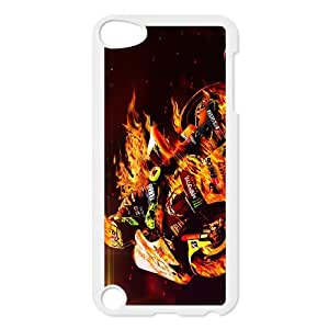 Valentino Rossi theme pattern design For Ipod Touch 5 Phone Case