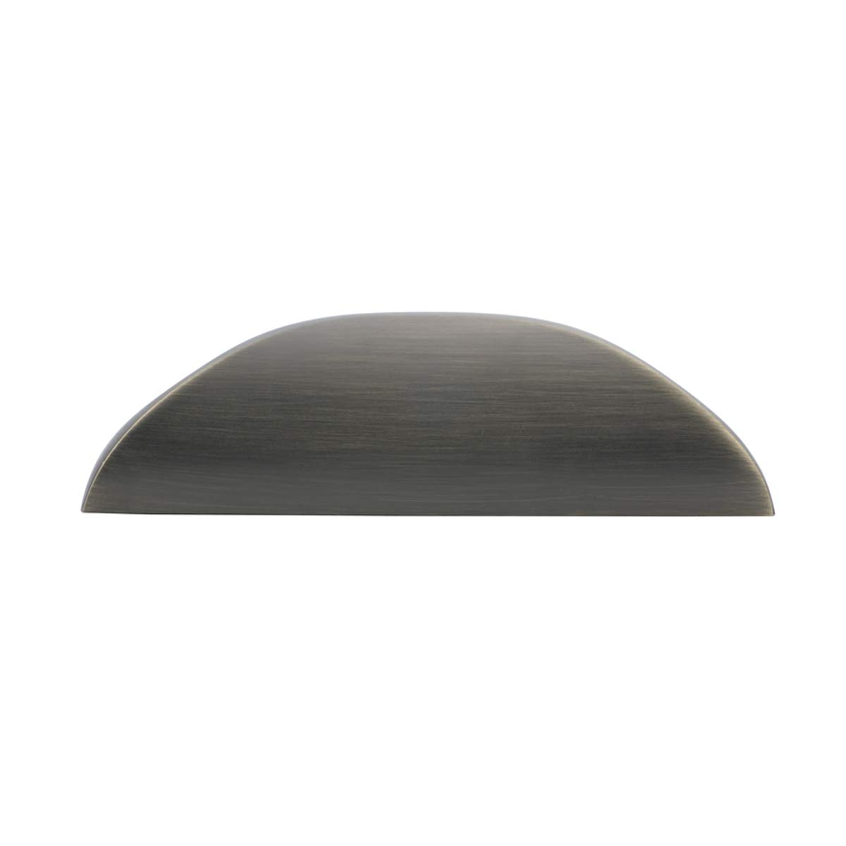 ottone spazzolato moderna Maniglia a dito distanza foro dal centro: 3,2 cm Basics confezione da 10 7,8 cm di lunghezza