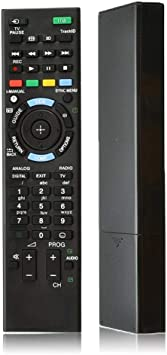 Blizim Reemplazo Control Remoto TV Compatible para Sony Bravia ...