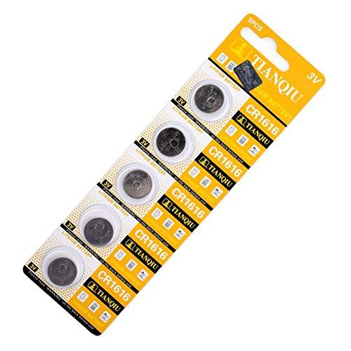 YCDC DL1616 BR1616 ECR1616 5021LC CR1616 3V Button Coin Cell Battery Bulk Lot 5 -