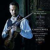 Antonio Vivaldi: The Four Seasons / 3 Violin Concertos - Giuliano Carmignola / Venice Baroque Orchestra / Andrea Marcon