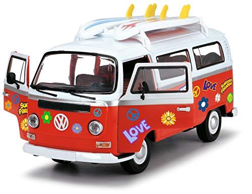 Dickie Toys 203776001Surfer Van, Zeugvan de Jeu avec Friction, 32Cm, 1: 14