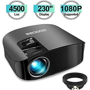 Amazon.com: Movie Projector - Artlii 4000 Lux Full HD 1080P ...