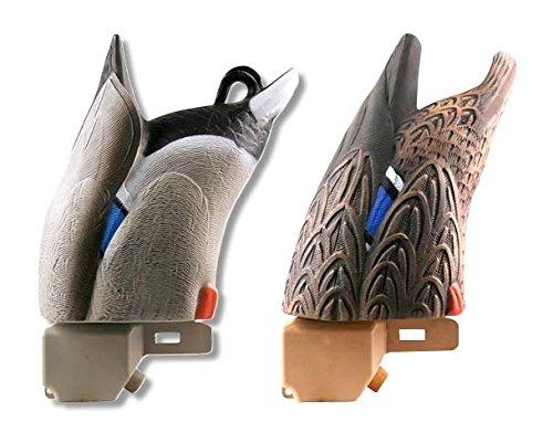 Greenhead Gear Over-Size Duck Decoy,Mallard Butt-Up Feeders,pair